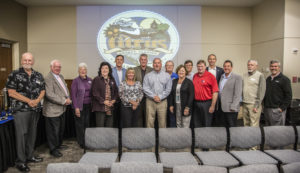 Community leaders and Citrus County commissioners gather on Jan. 18 at CF in Lecanto for a Leadership Summit