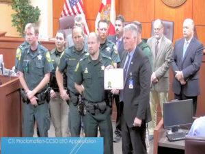 Cops honored